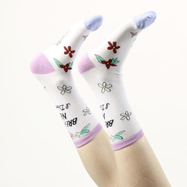 Breaking News I don't care sokken