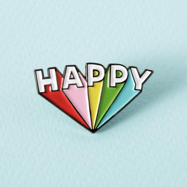 Happy Pin