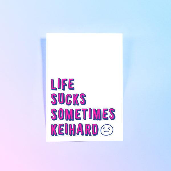 Riso-neon-pink-blue-life-sucks