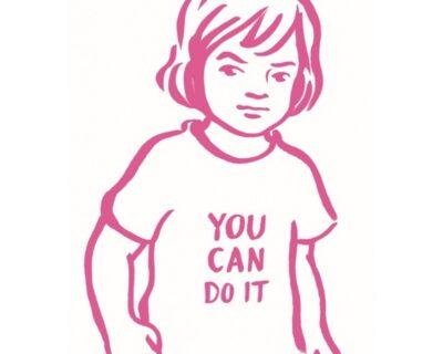 You Can Do It Ansichtkaart – B Keuze