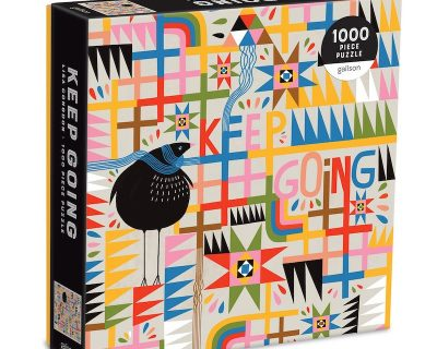 Keep Going Puzzel – 1000 stukjes